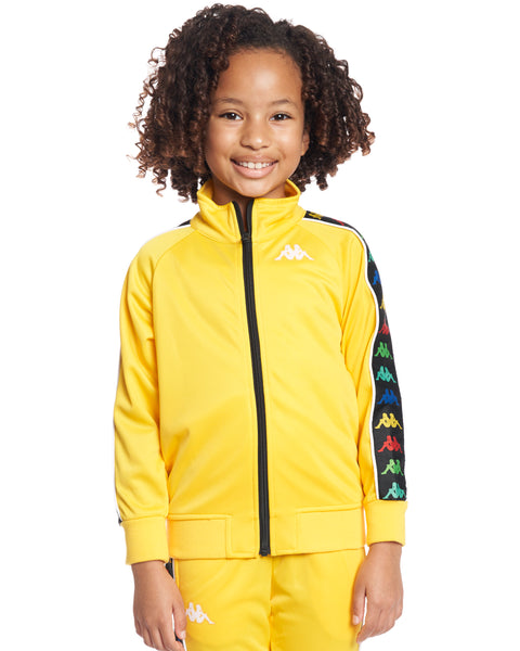 Kids Authentic 222 Banda Anniston Slim Jacket Yellow Lemon White