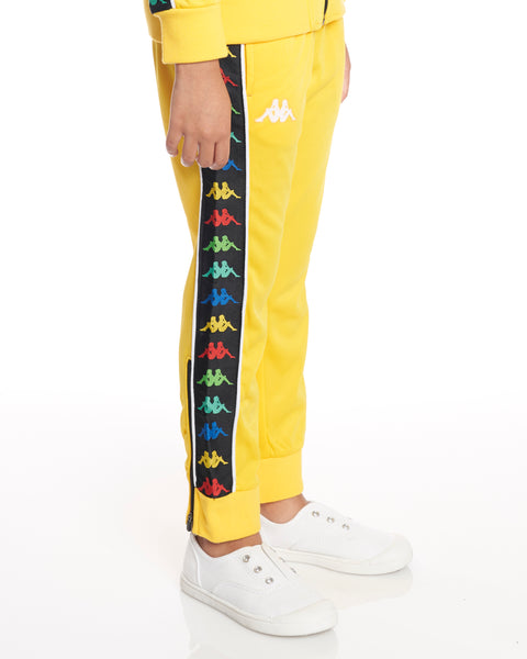 Kids Authentic 222 Banda Rastoria Slim Pants Yellow Lemon White