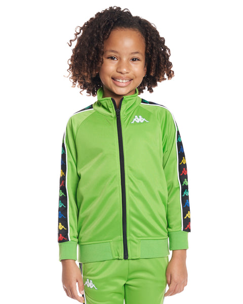 Kids Authentic 222 Banda Anniston Slim Jacket Green White