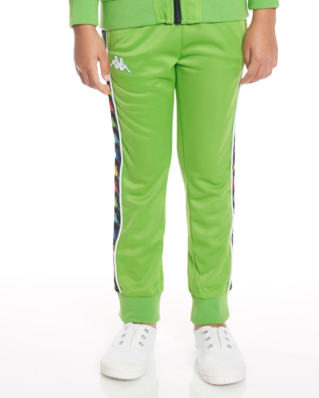 Kids Authentic 222 Banda Rastoria Slim Pants Green White