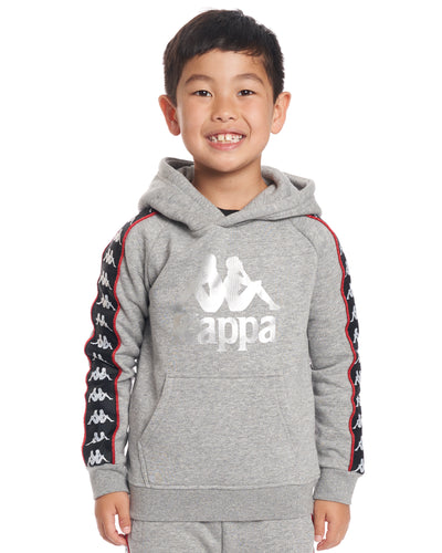 Kids Authentic 222 Banda Hurtado Sweatshirt GreyMdMel Black Red