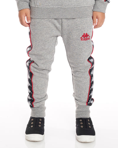 Kids Authentic 222 Banda Alan Pants GreyMdMel Black Red