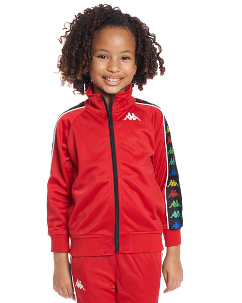 Kids Authentic 222 Banda Anniston Slim JacketRed White