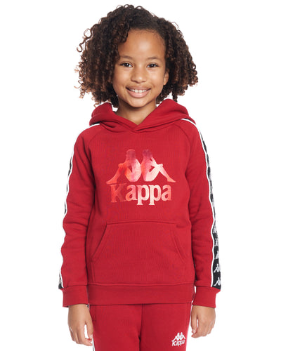 Kids Authentic 222 Banda Hurtado Sweatshirt Red Dk Black White