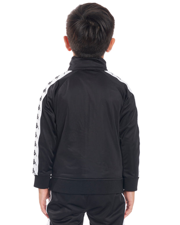 Kids Authentic 222 Banda Anniston Slim JacketBlack White