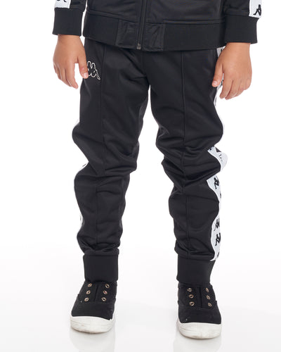 Kids Authentic 222 Banda Rastoria Slim Pants Black White
