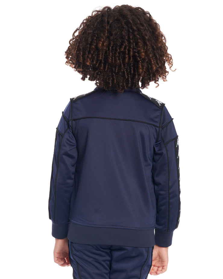 Kids Authentic 222 Banda Merez Slim Jacket Blue Marine Black