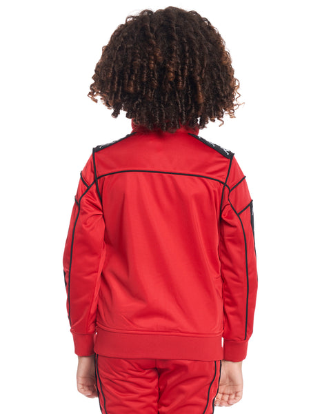 Kids Authentic 222 Banda Merez Slim Jacket Dk Red Black