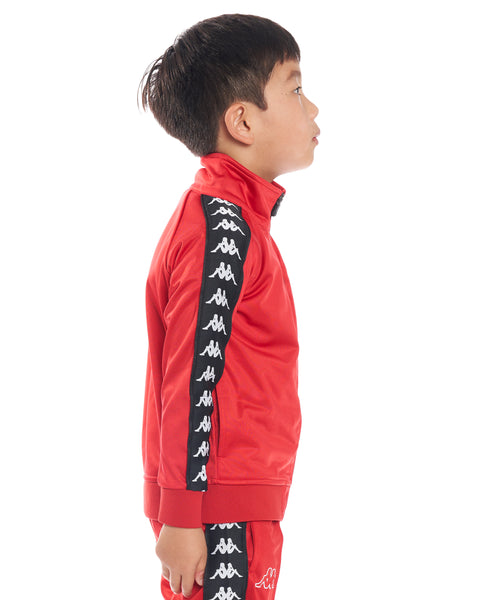 Kids Authentic 222 Banda Anniston Slim JacketDk Red Black