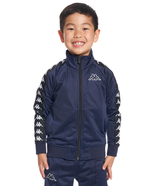 Kids Authentic 222 Banda Anniston Slim JacketBlue Marine Black