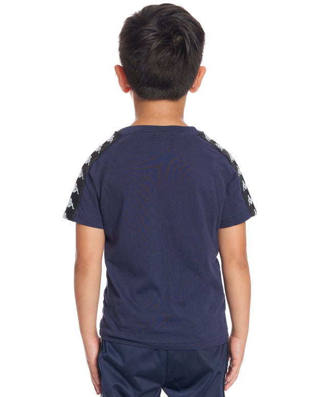 Kids Authentic 222 Banda Coen Slim T-Shirt Blue Marine Black