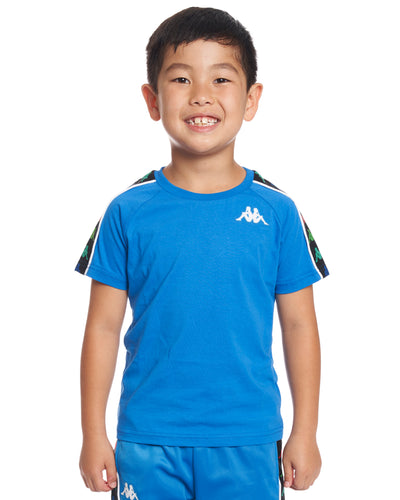 Kids Authentic 222 Banda Coen Slim T-Shirt Blue France White