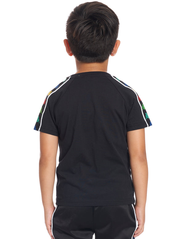Kids Authentic 222 Banda Coen Slim T-Shirt Black Red