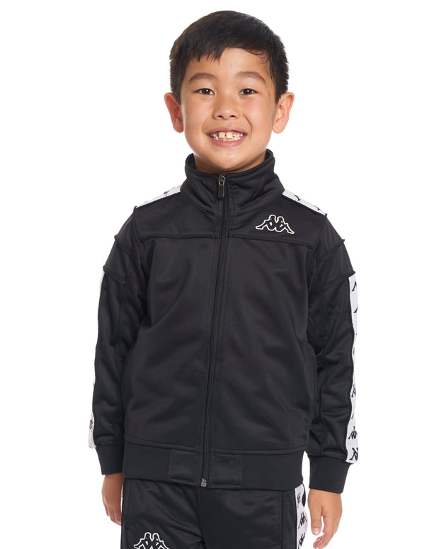 Kids Authentic 222 Banda Merez Slim Jacket Black White