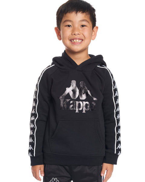 Kids Authentic 222 Banda Hurtado Sweatshirt Black White