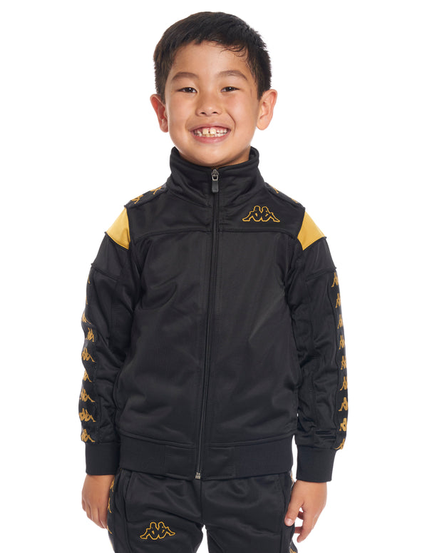 Kids Authentic 222 Banda Merez Slim Jacket Black Gold