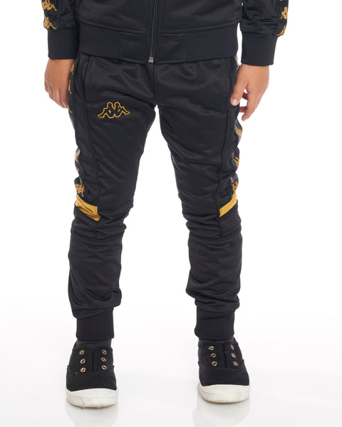 Kids Authentic 222 Banda Mems Slim Pants Black Gold