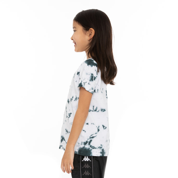 Kids Authentic Dami Marbled T-Shirt - White