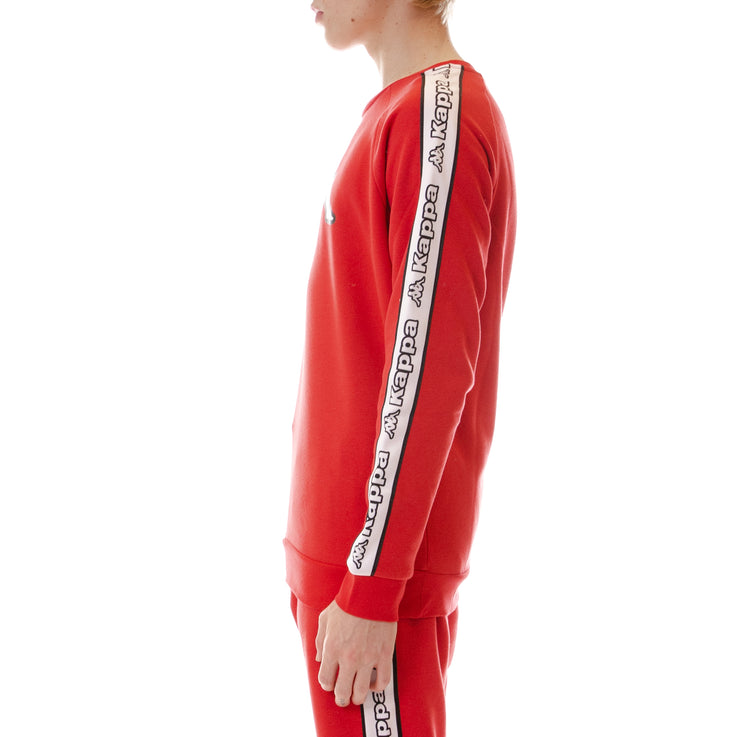 Logo Tape Ateri Sweatshirt - Red White