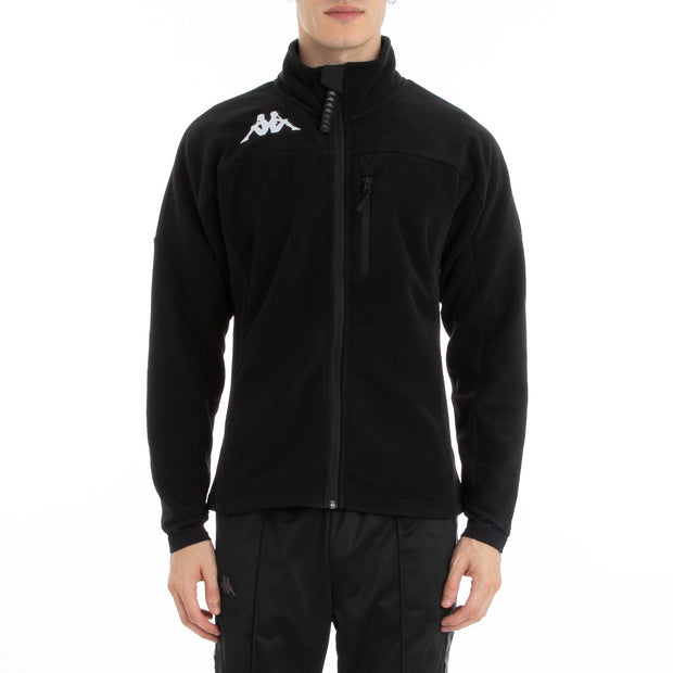 Kappa 6Cento 687 Fleece Jacket - Black