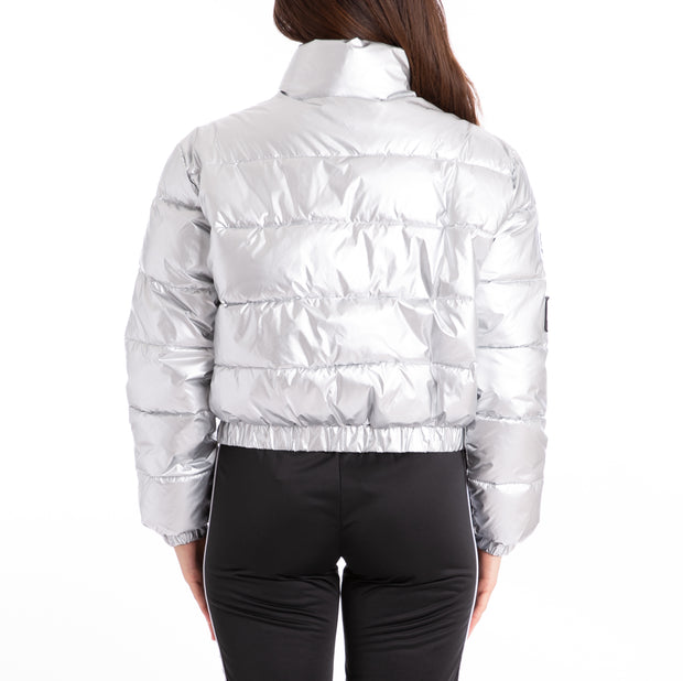 Authentic LA Boltan Silver Black White Jacket