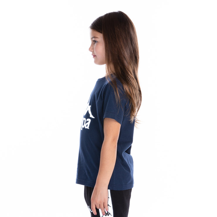 Kids 222 Banda Dris Reflective T-Shirt - Blue Grey Reflective
