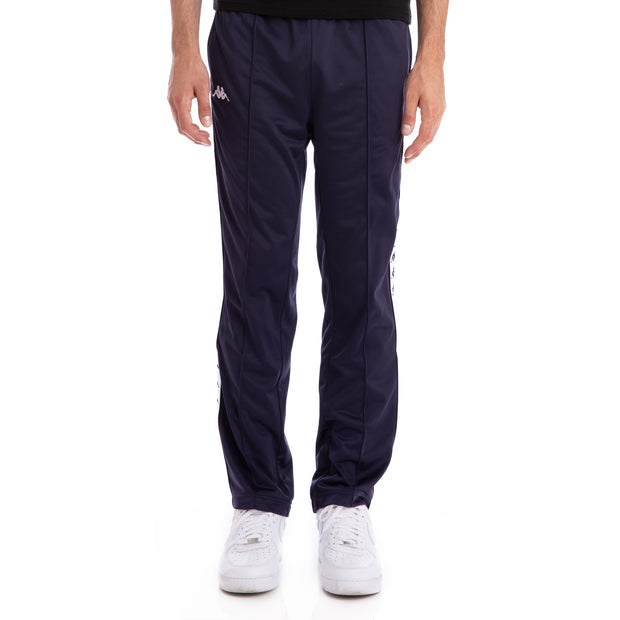 Kappa 222 Banda Astoriazz Blue Marine White Trackpants