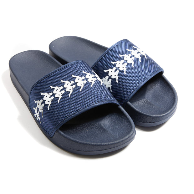 222 Banda Adam 12 Slides - Blue Indigo White
