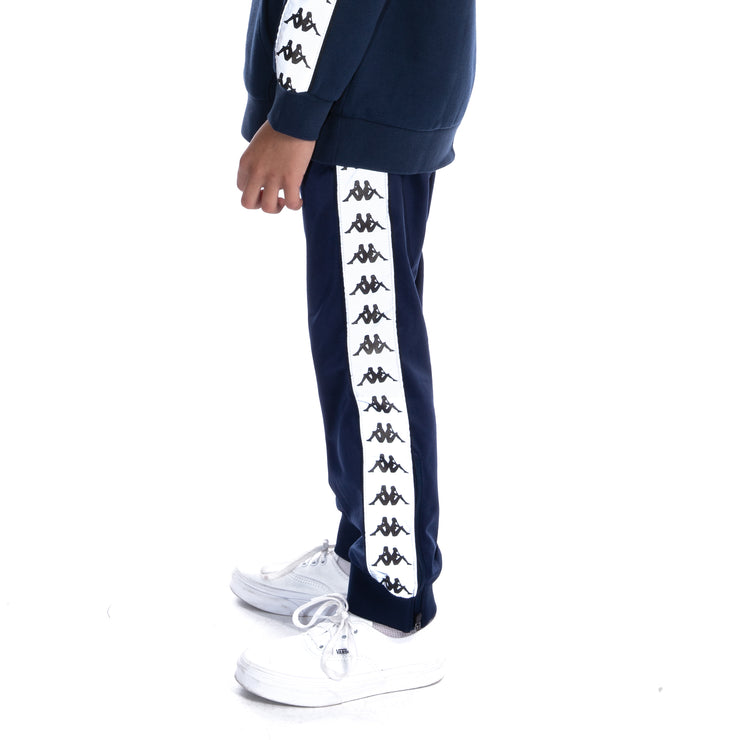 Kids 222 Banda Dodo Reflective Trackpants - Blue Grey Reflective