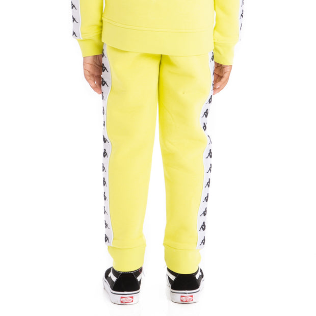 Kids 222 Banda Alanz Sweatpants - Green Lime White