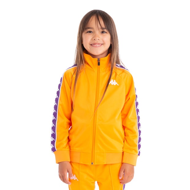 Kids 222 Banda Anniston Track Jacket Orange Purple