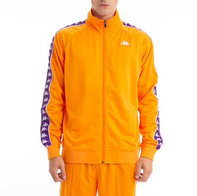 222 Banda Anniston Track Jacket Orange Purple