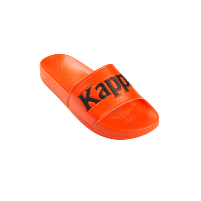 Kappa 222 Banda Adam 9 Orange Flame Black Slides