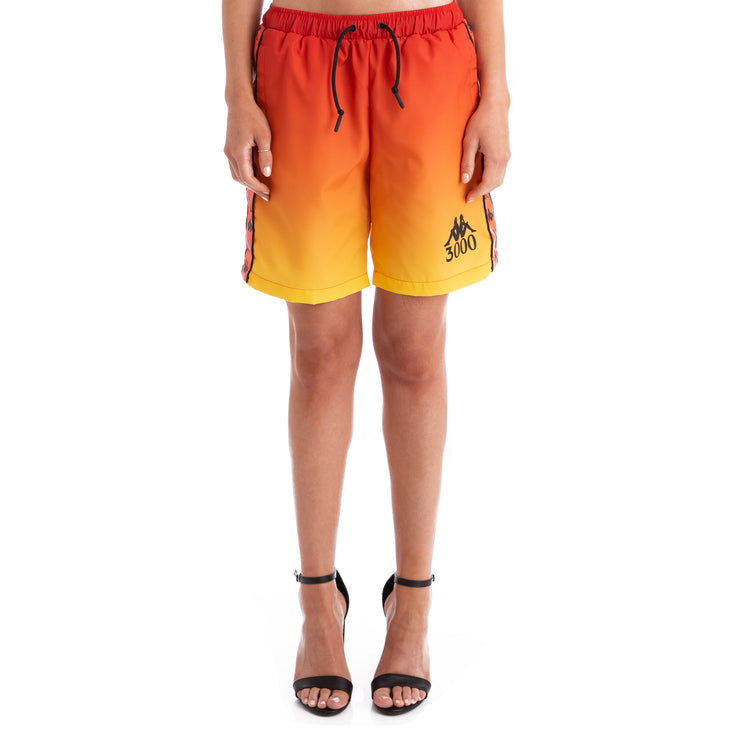 Kappa x Gumball 3000 Banda Glit Red Swim Trunks