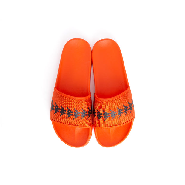 222 Banda Adam 12 Slides - Orange Flame Black