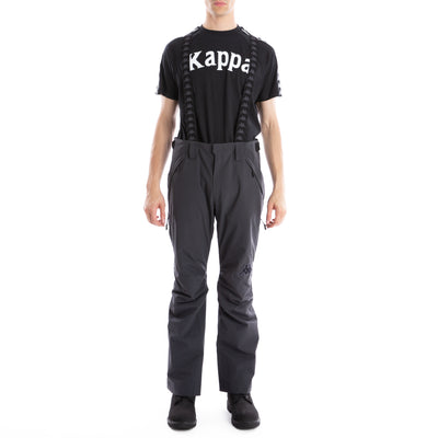 6Cento 622 Fz Black Lt Zip Ski Pants