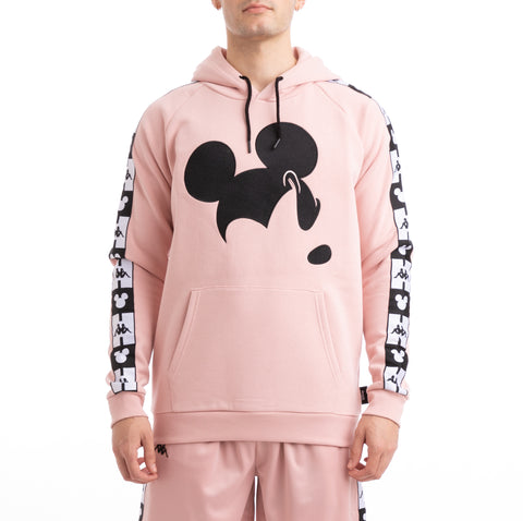 Authentic Abel Disney Pink Dusty Black Hoodie
