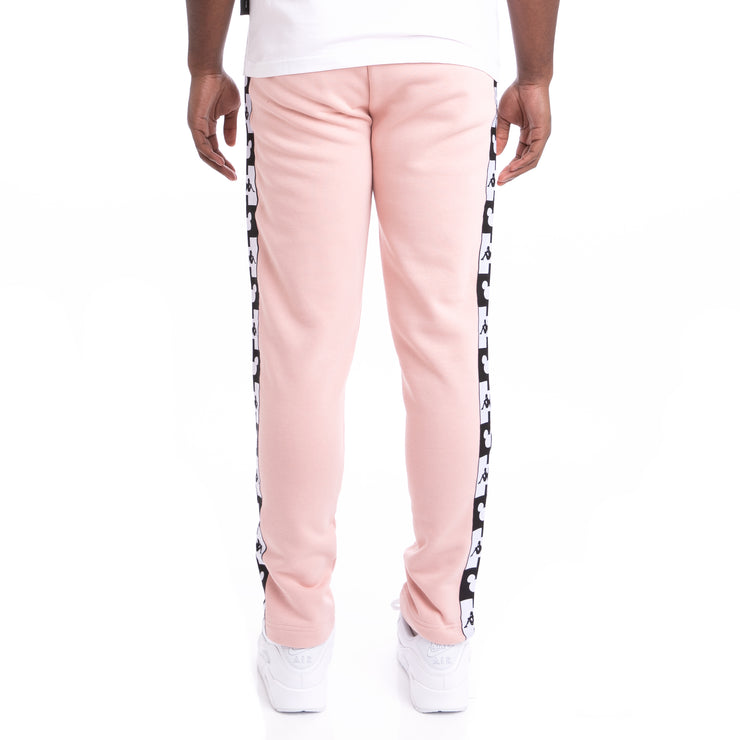 Kappa Authentic Alphonso Disney Pink Dusty Black Sweatpants