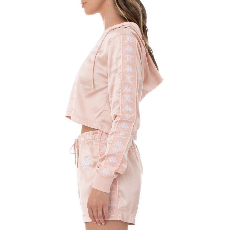 Authentic Juicy Couture Eres Crop Track Jacket - Pink Blush