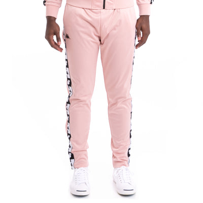 Kappa Authentic Anthony Disney Pink Dusty Black Trackpants