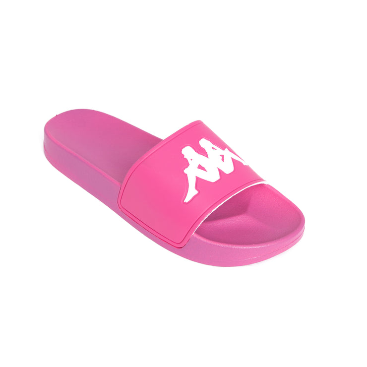 Authentic Adam 2 Slides - Fuchsia Lt White
