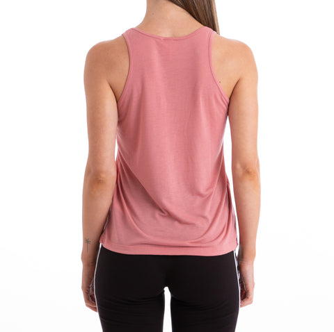 Kappa Authentic Zinac Pink White Black Tank