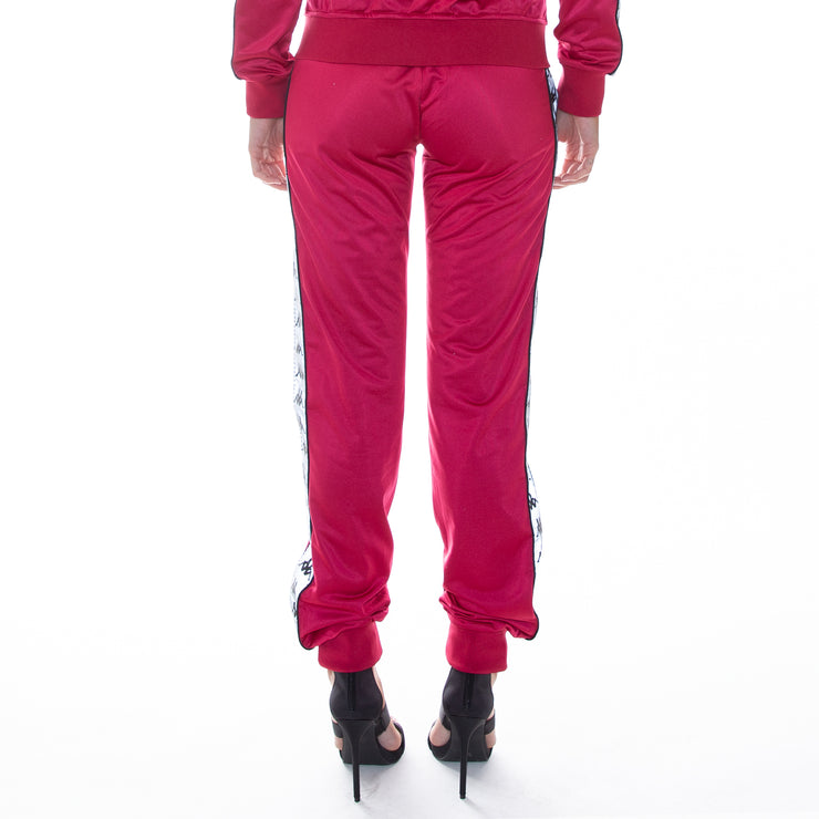 222 Banda Dinas Reflective Trackpants - Raspberry Reflective