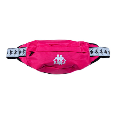 222 Banda Danky Reflective Pouch Bag Raspberry Grey Reflective