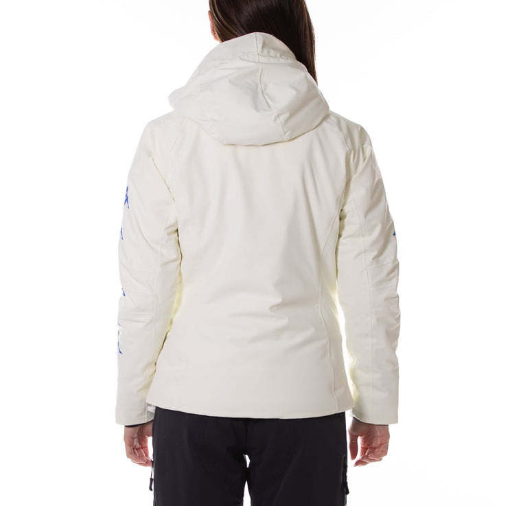 6Cento 652Xb Ski Jacket - White Antique Blue