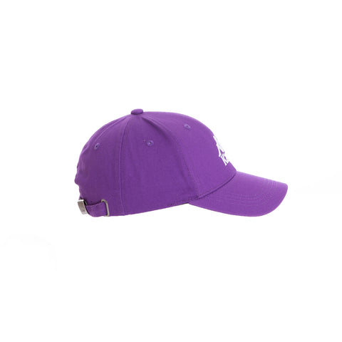Authentic Bzaftan Violet Pansy White Cap