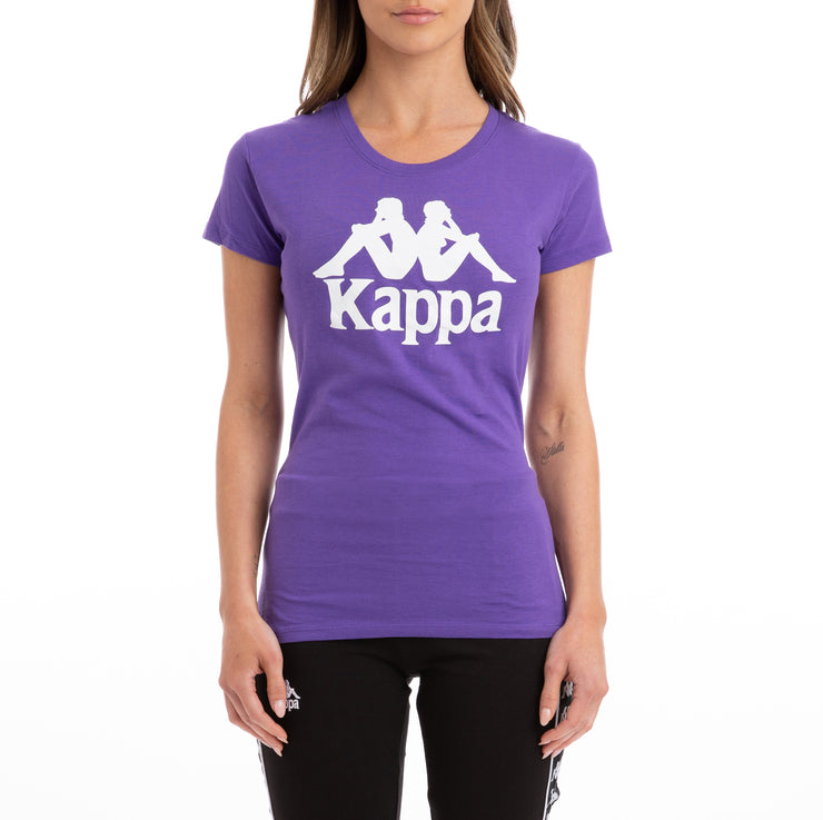 Kappa Authentic Westessi Violet Pansy T-Shirt