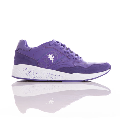 Kappa 222 Banda Luxor 1 Violet Purple White Sneakers