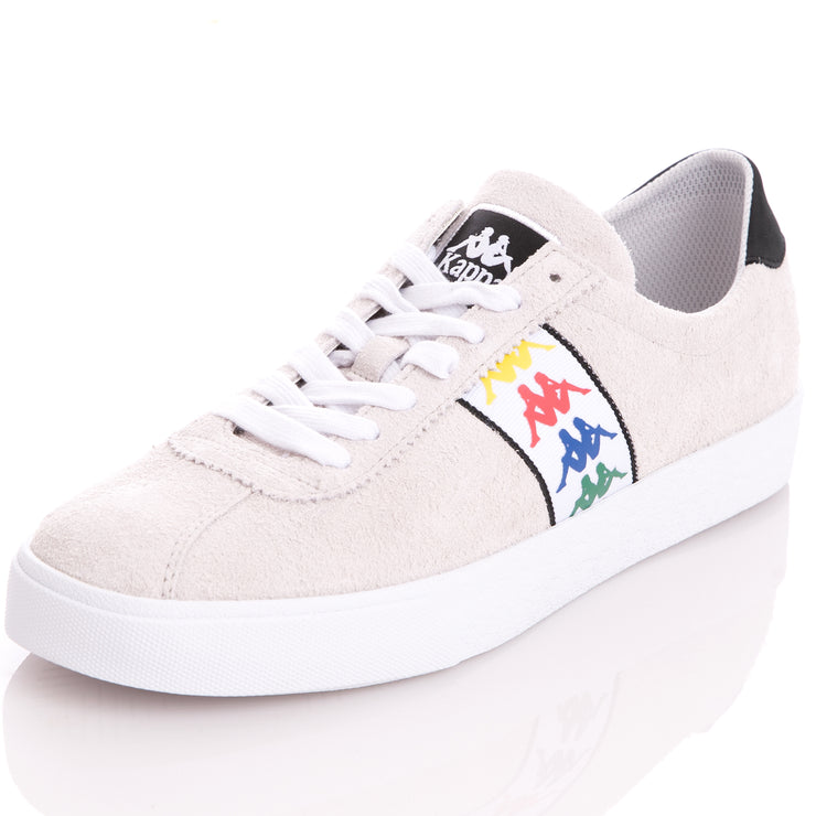 Kappa 222 Banda Club 2 Grey Lt Black Sneakers