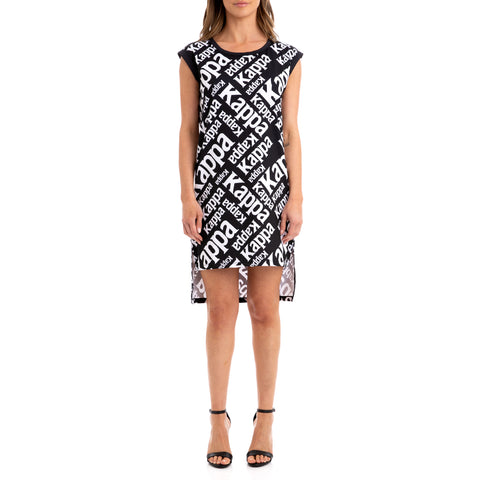 Kappa Authentic Bablo Black White Dress